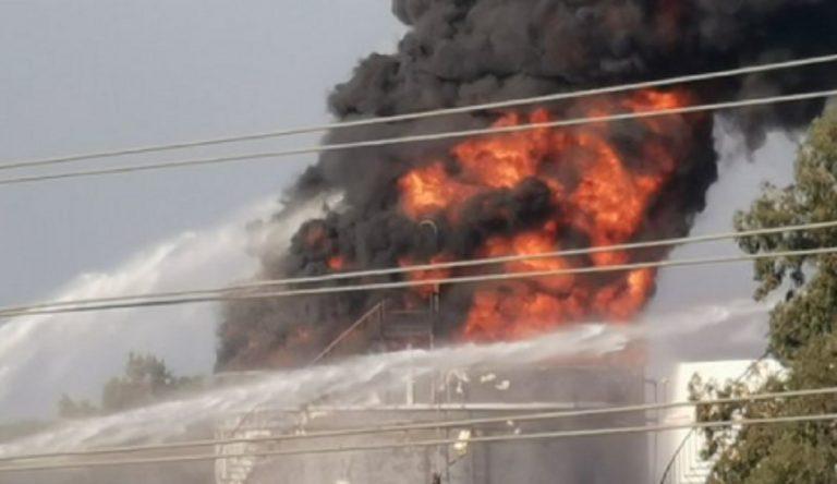 Incendio Libano