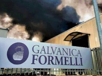 Incendio in una ditta orafa ad Arezzo