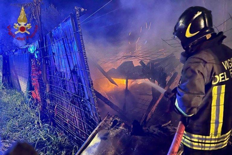 Incendio ferrovia Verona Brennero