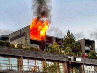 Incendio in un hotel di Avelengo