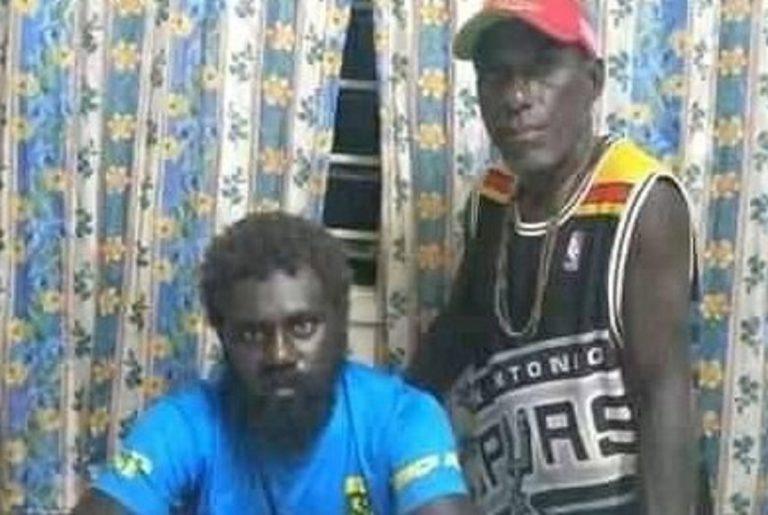 I due naufraghi, Livae Nanjikana e Junior Qoloni