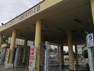 L'ingresso dell'Umberto I a Nocera