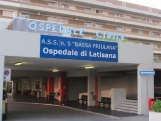 L'ospedale di Latisana, dove è morta la povera Elisa Dal Forno