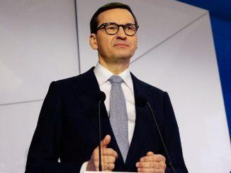 Il premier polacco Mateusz Morawiecki