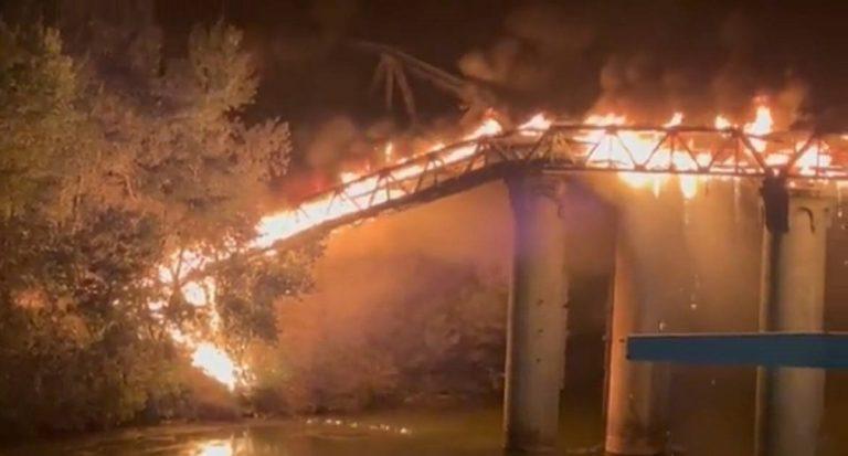 Ponte bruciato a Roma, residenti preoccupati per le ripercussioni sul traffico da domani