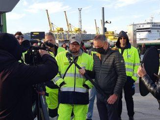 Porto di Trieste proteste