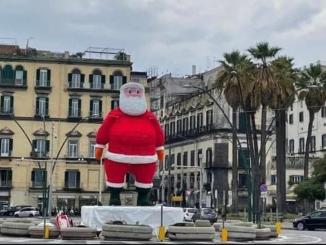 Napoli babbo natale