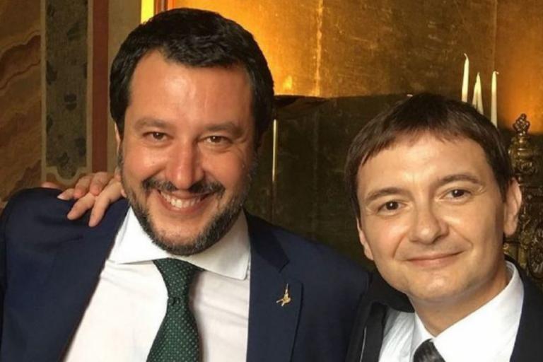 Salvini e Luca Morisi