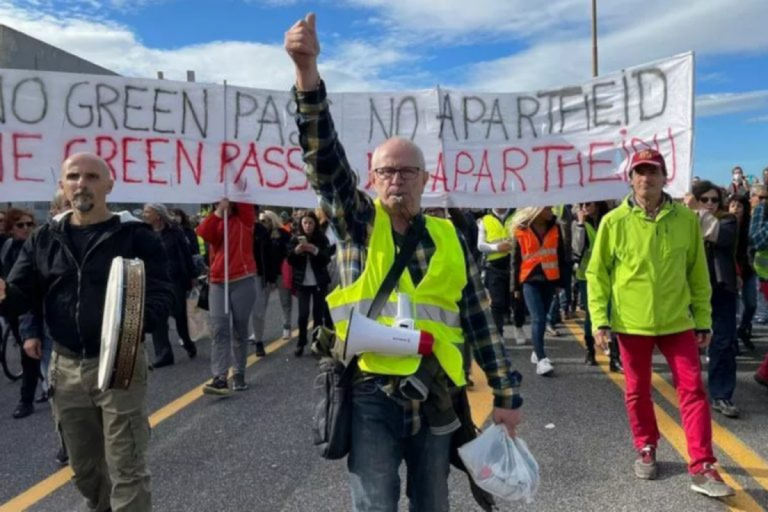 scioperi green pass