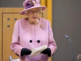 Regina Elisabetta ricoverata