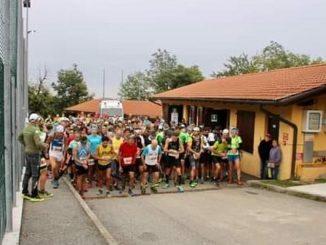 Una foto della Su-per Veglio Trail, la corsa durante la quale è morto Cabrio