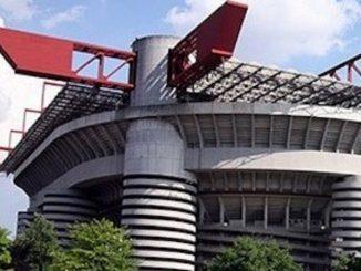 Lo stadio di San Siro a Milano