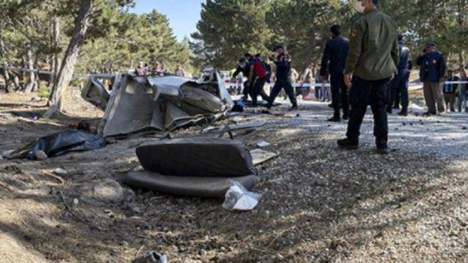Turchia incidente scuolabus