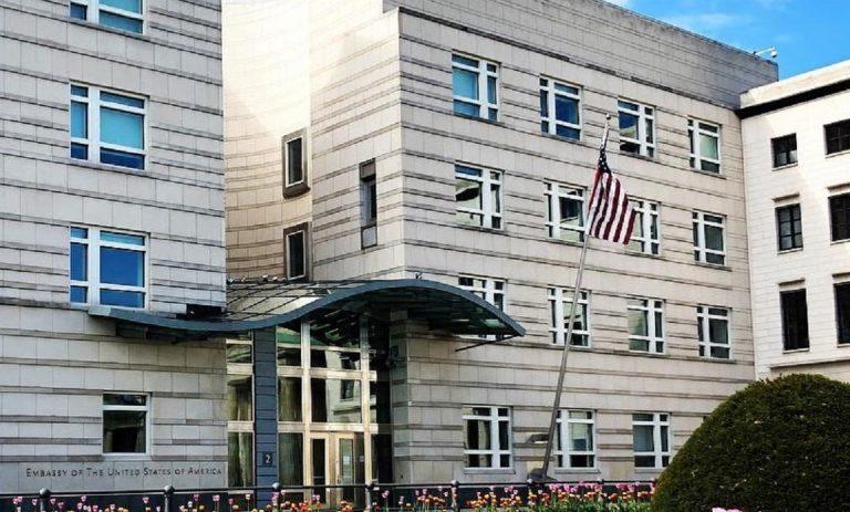 L'ambasciata Usa a Berlino