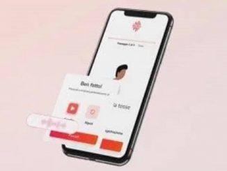 Una card su Voice Med App
