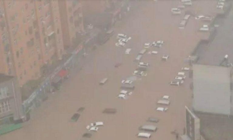 alluvione Cina