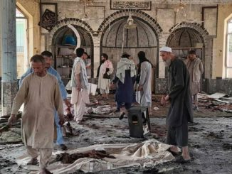 attentato moschea Kunduz