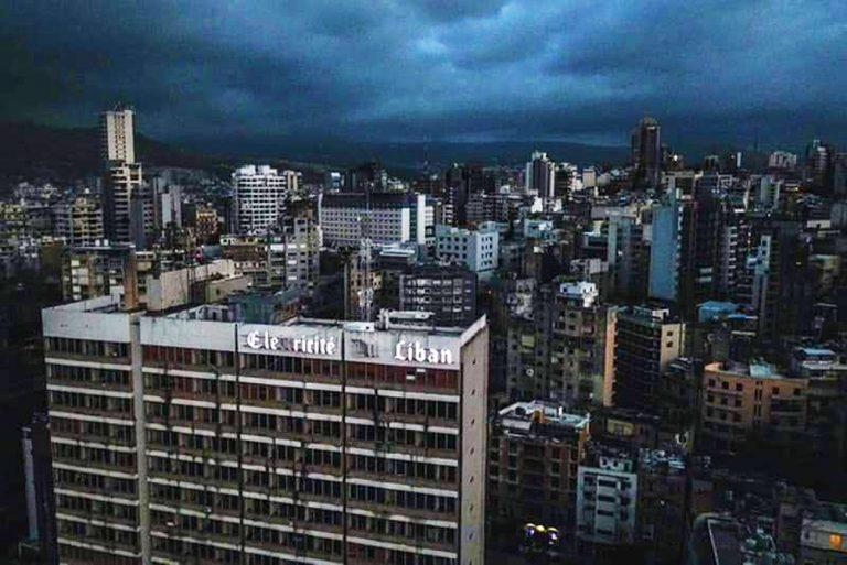 blackout libano