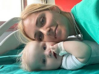 chiara ferragni figlia vittoria in ospedale