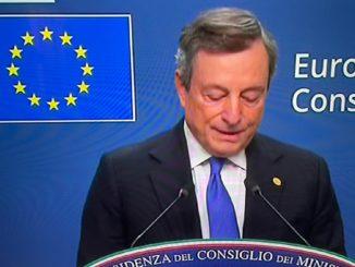 consiglio europeo conferenza Draghi