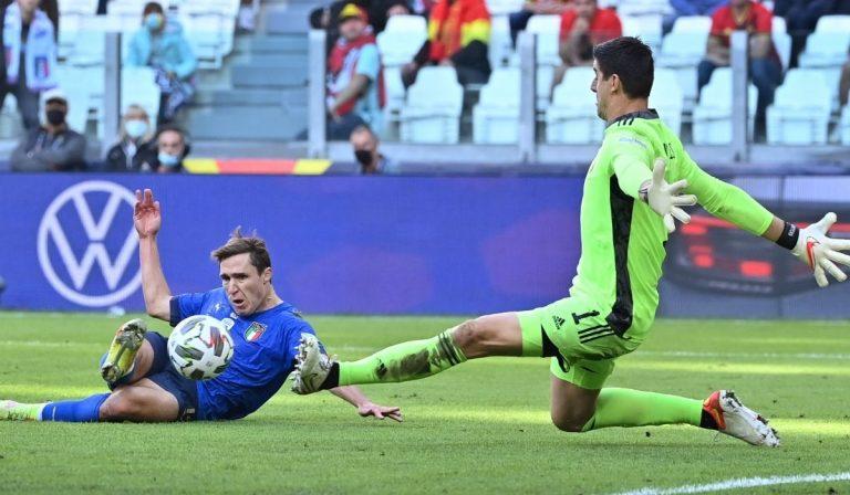 Nations League Italia Belgio