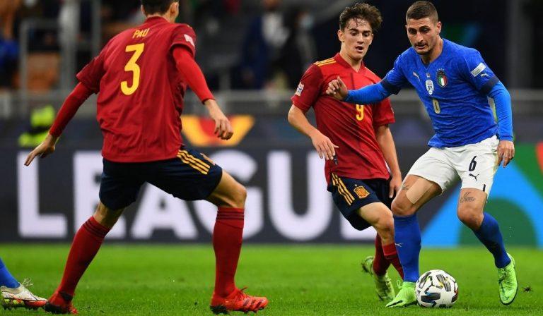 Nations League Italia Spagna
