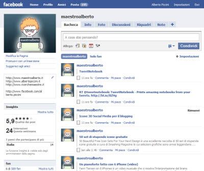 Come creare una pagina facebook per trovare i miei amici for Come creare i miei progetti personali