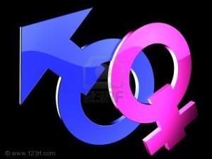 4460901 maschio e femmina genere simboli su fondo nero 300x225