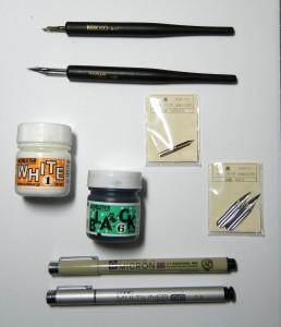 Accessori per inchiostrare
