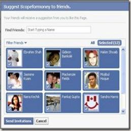 Come inviare un invito a tutti gli amici su Facebook
