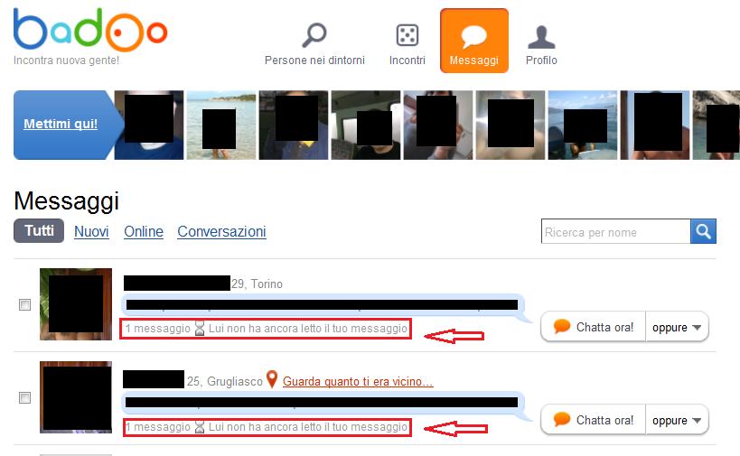 Sito Web di incontri come inviare un messaggio