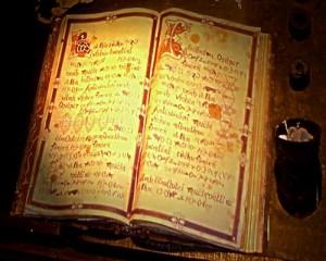 libro degli incantesimi 300x240