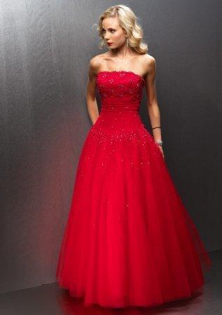 Trucco matrimonio vestito rosso