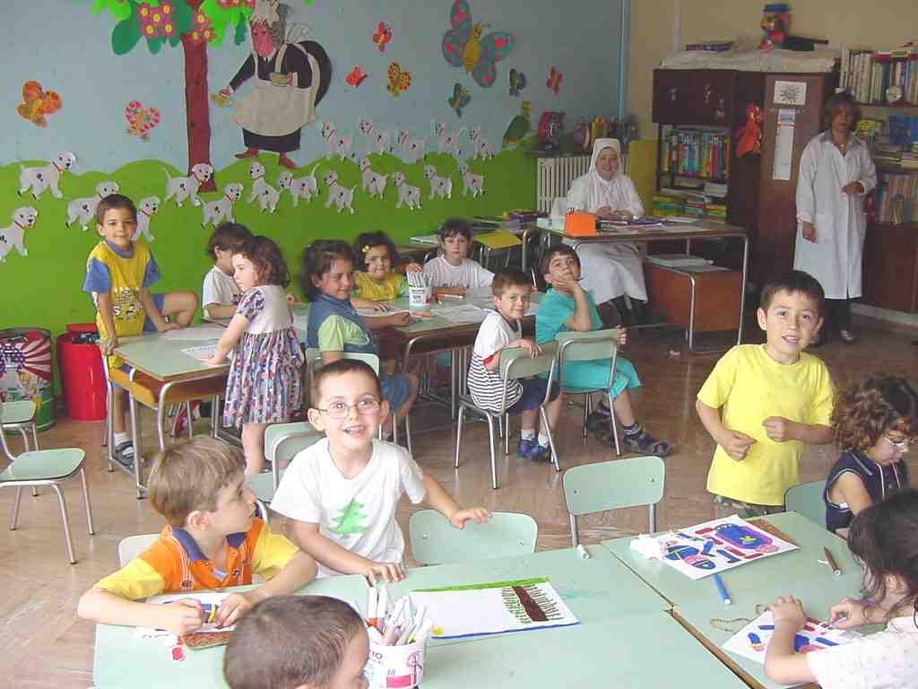Come insegnare lo spagnolo ai bambini dell 39 asilo for Arredamento asilo nido usato