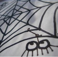 Come disegnare la tela di un ragno