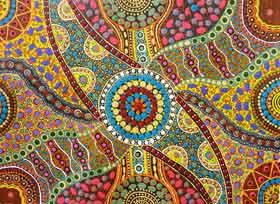 L 39 arte aborigena in mostra al keringe arts centre for Arte aborigena